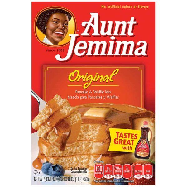 Mezcla para Pancake y Waffle Aunt Jemima Original, 16 oz