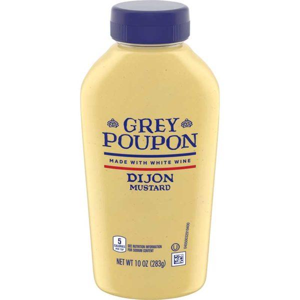 Mostaza Dijon Grey Poupon, 10 oz