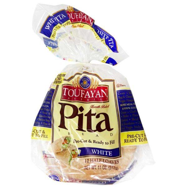 Pan Pita Toufayan White, 11 oz