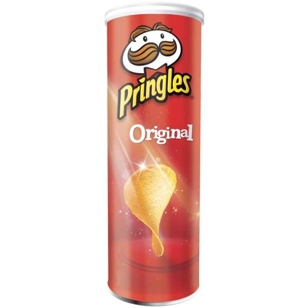 Papas Fritas Pringles Sabor Original, 124 g