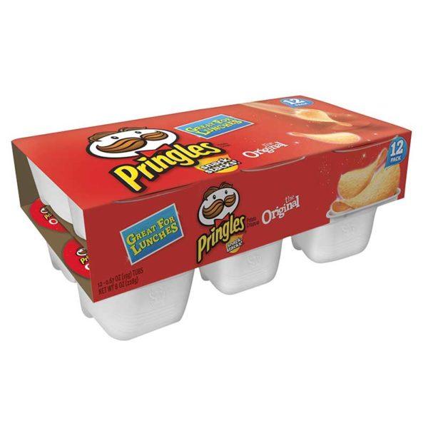Papas Fritas Pringles Sabor Original, 19 g (12 uds)