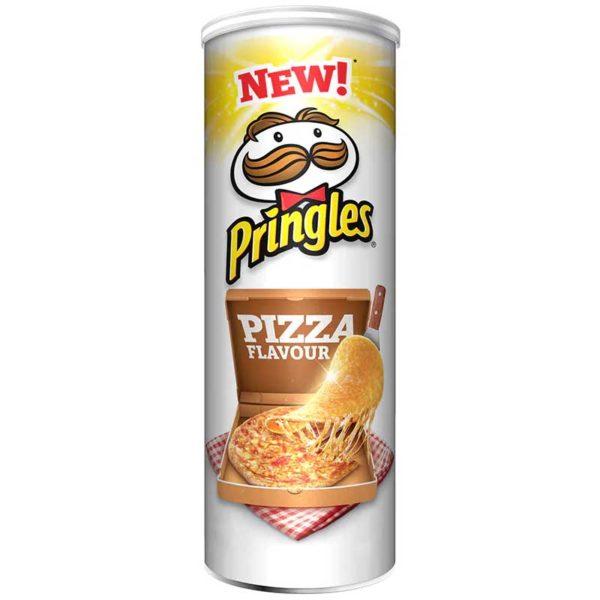 Papas Fritas Pringles Sabor Pizza, 124 g