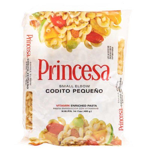 Pasta Princesa Coditos Pequeños, 14.11 oz