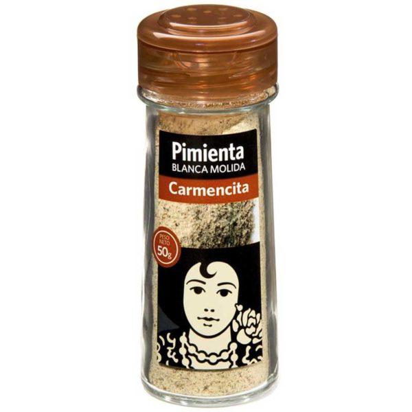 Pimienta Blanca Molida Carmencita, 50 g