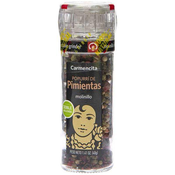 Pimienta Mix Carmencita Molinillo, 40 g
