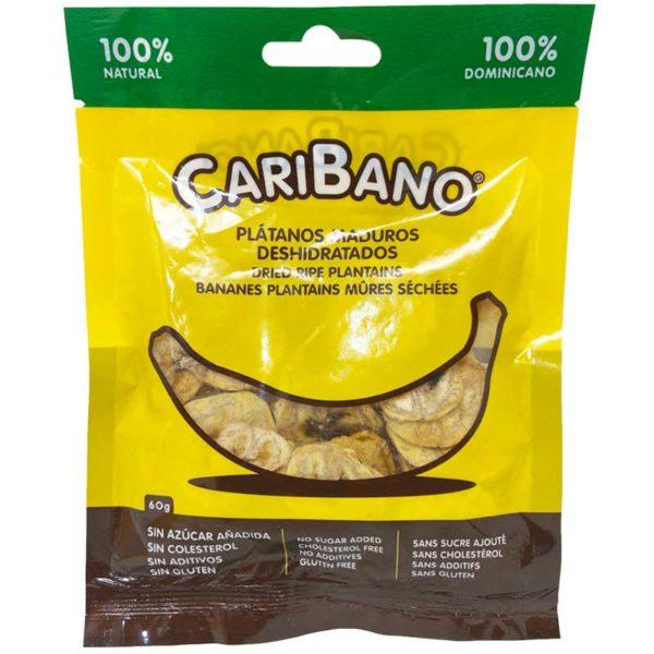 Plátanos Maduros Deshidratados CariFrutas, 60 g