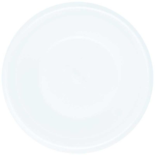 Platos Foam Desechables Hondo No.9 Plastifar, Caja (20 x 25 uds)