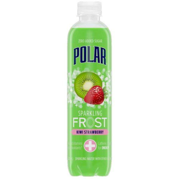 Polar FROST Sparkling Water Kiwi Strawberry, 17 oz