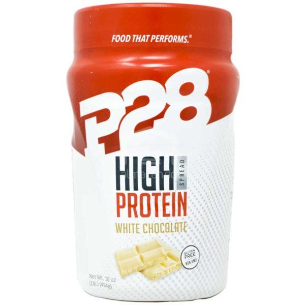 P28 Mantequilla Crema de Chocolate Blanco, 1lb