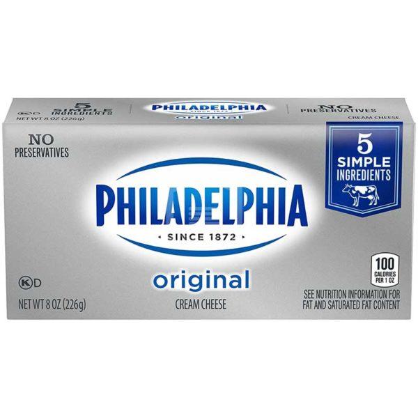 Queso Crema Philadelphia Original Barra, 8 oz