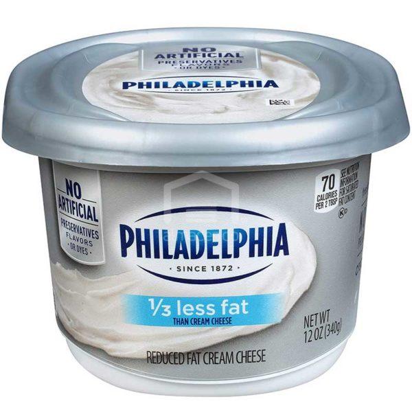 Queso Crema para Untar Philadelphia 1/3 Menos Grasa, 12 oz