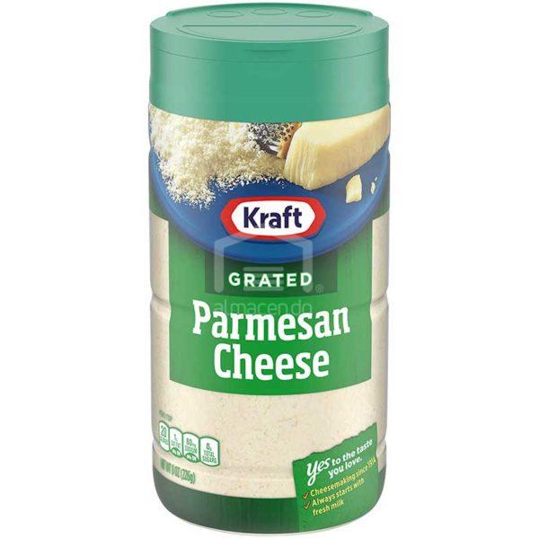 Queso Parmesano Rallado Kraft, 8 oz