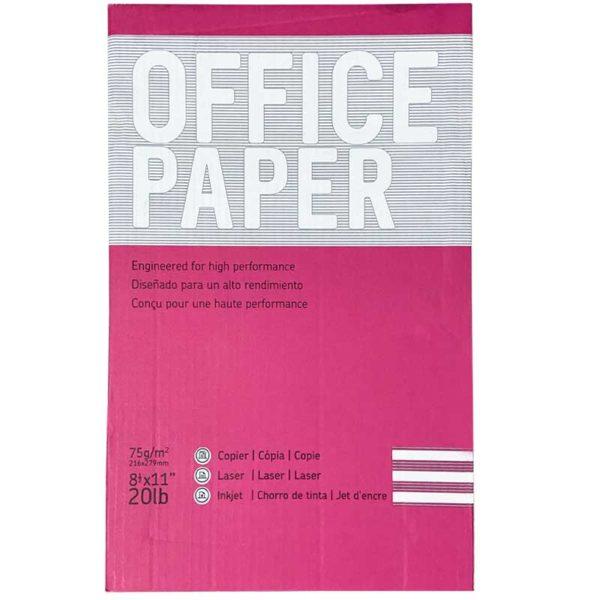 "Resma de Papel Office Paper 8.5"" x 11"""