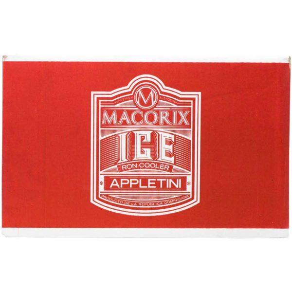 Ron Cooler Macorix Appletini, 9oz Caja (24 Uds)