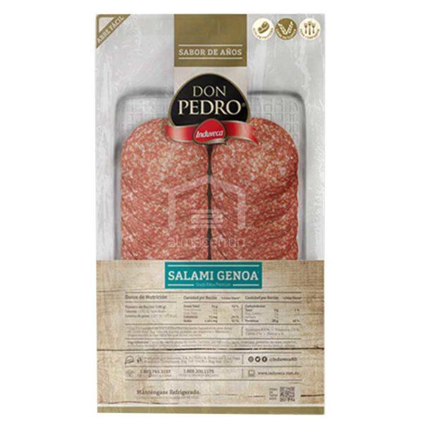 Salami Genoa Rebanado Don Pedro Grado Extra Premium, 4 oz