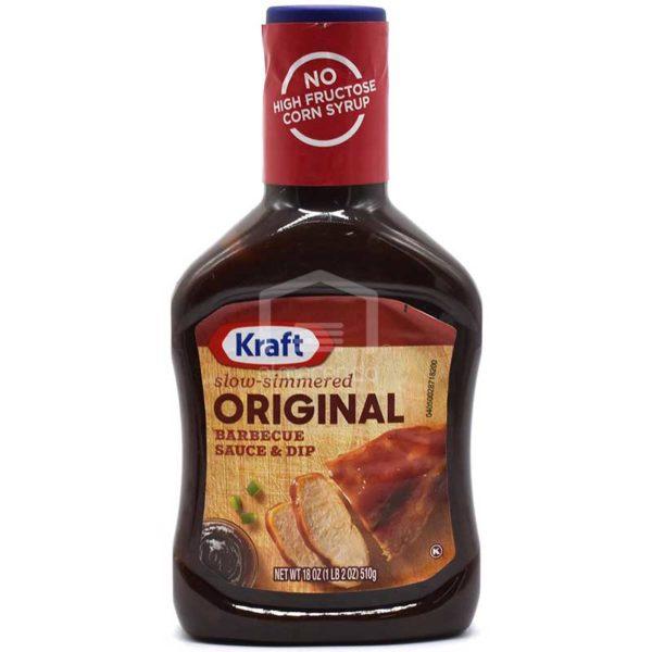Salsa Kraft Original para Barbacoa, 18 oz