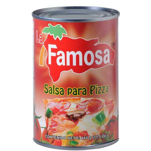 Salsa para Pizza La Famosa, 15.5 oz (2 uds)