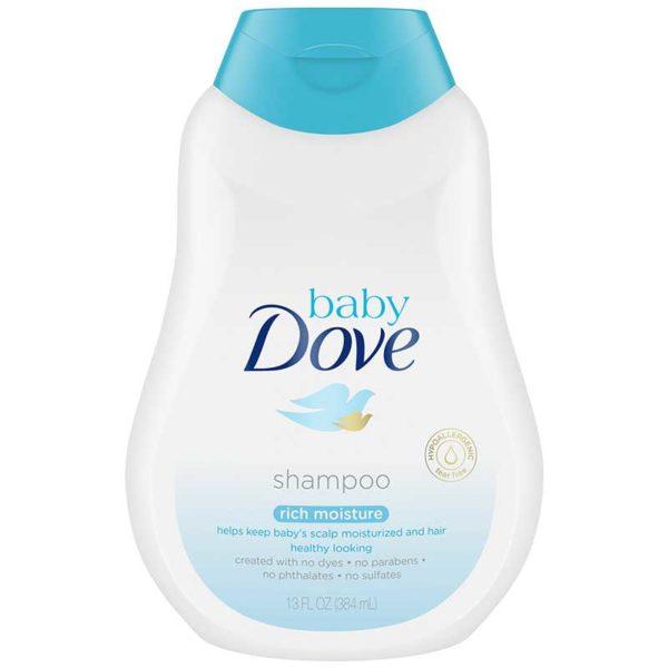 Shampoo Dove Baby Hidratación Enriquecida, 13 oz