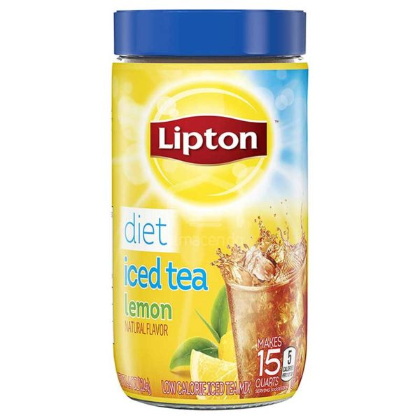 Té Frio Dietético Lipton Limon, 4.4 oz