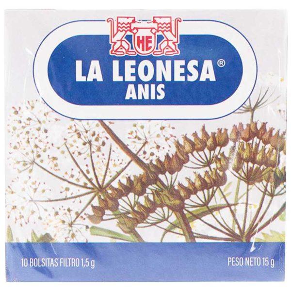 Té La Leonesa Anis, 10 uds