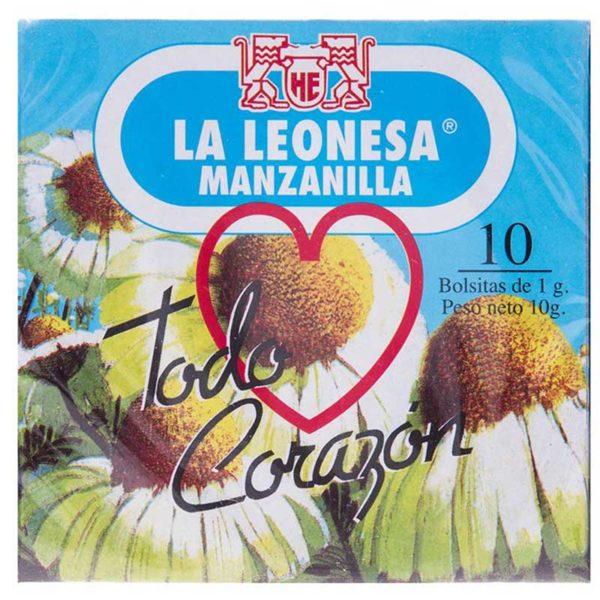 Té La Leonesa Manzanilla, 10 uds