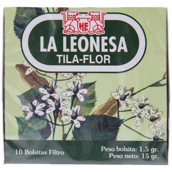 Té La Leonesa Tila Flor, 10 uds