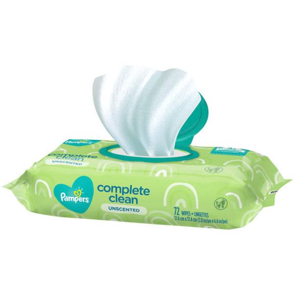 Toallitas Húmedas Pampers Complete Clean (72 uds)