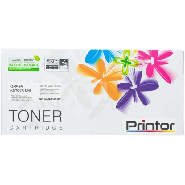 Toner Compatible con Impresora Láser HP, Q5949A/Q7553A