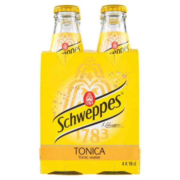 Agua Tónica Schweppes, 6 oz (4 pack)