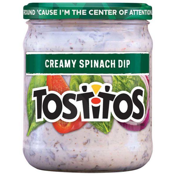 Tostitos Espinacas Cremosas Salsa, 15 oz