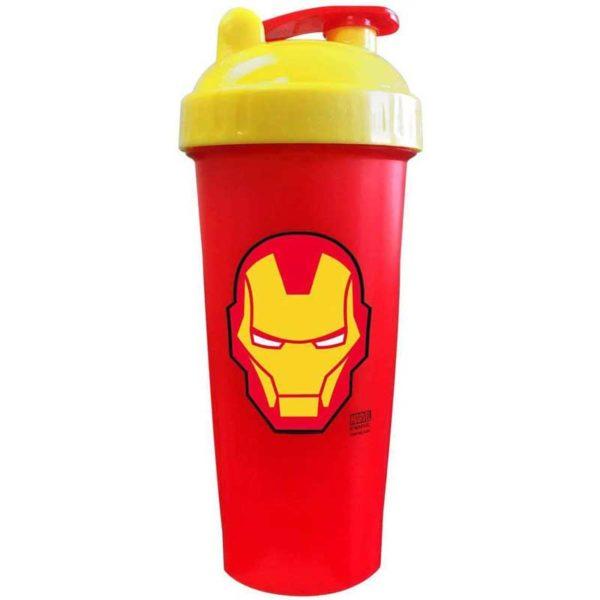 Vaso Agitador PerfectShaker Hero Series Iron Man, 28oz
