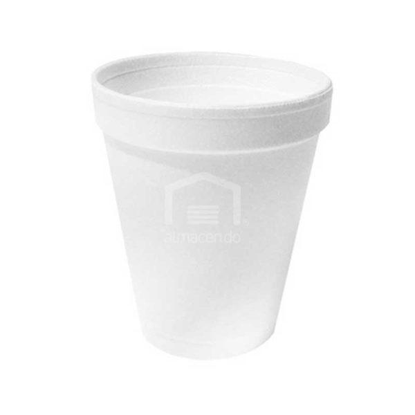 Vasos Desechables de Foam 6 oz Plastifar, Caja (40 x 25 uds)