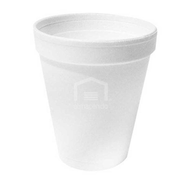 Vasos Desechables de Foam 8 oz Plastifar, Caja (40 x 25 uds)