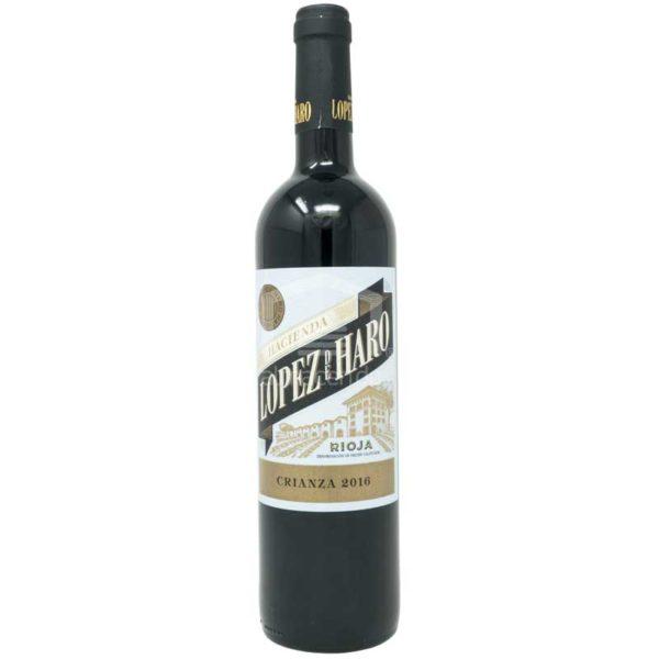 Vino Tinto Hacienda Lopez de Haro Crianza, 750 ml