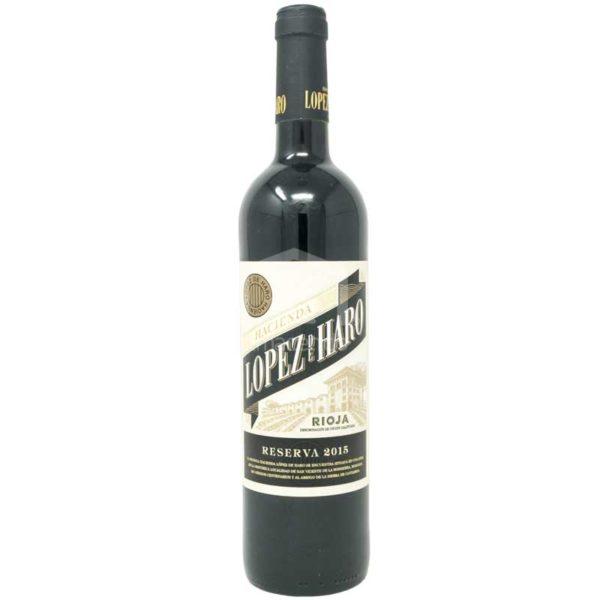 Vino Tinto Hacienda Lopez de Haro Reserva, 750 ml