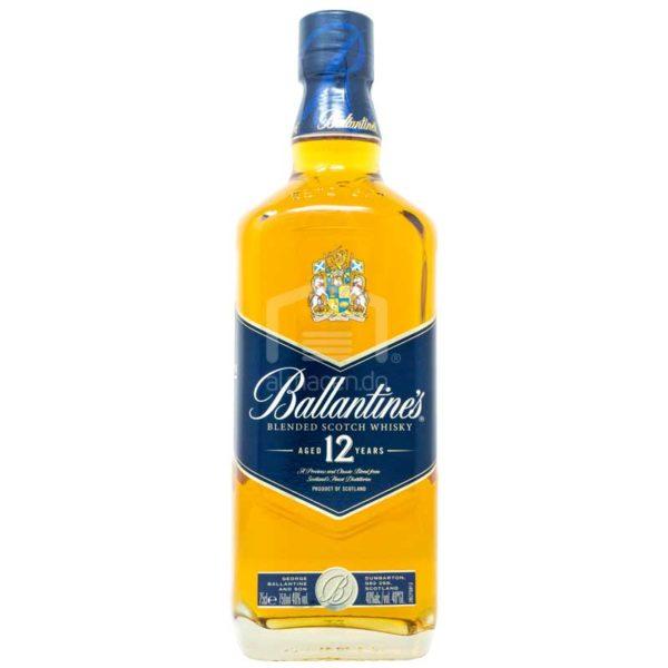 Whisky Escosés Ballantine's 12 Años, 750 ml