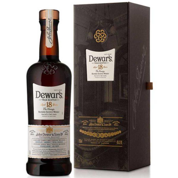 Whisky Dewars 18 Años, 750 ml