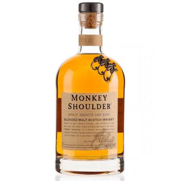 Whisky Escocés Monkey Shoulder, 750 ml