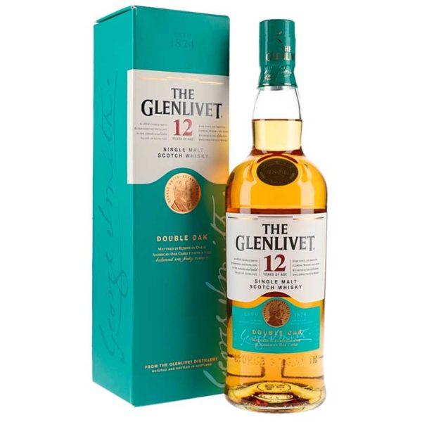 Whisky The Glenlivet 12 Años, 750 ml