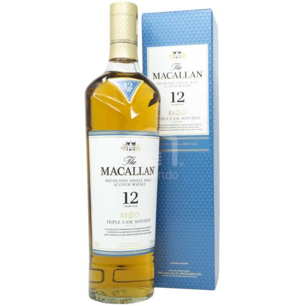 Whisky The Macallan Triple Cask 12 Años, 750 ml