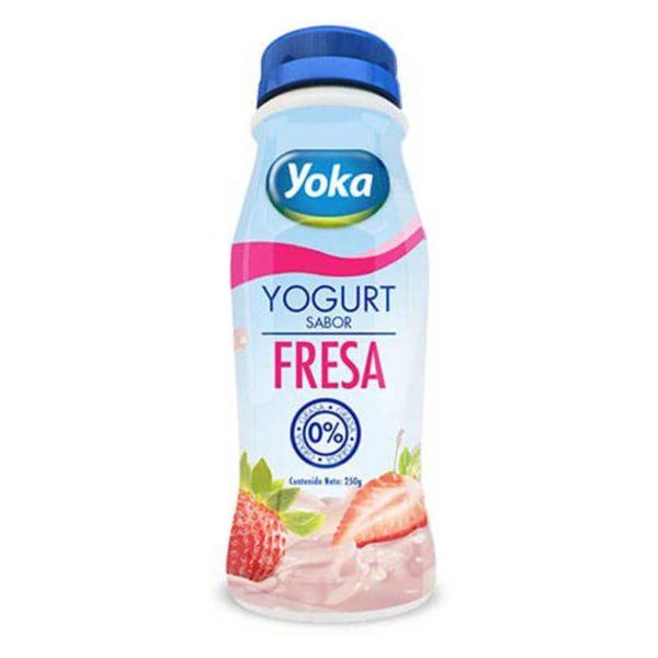 Yogurt Yoka Fresa, 8 oz