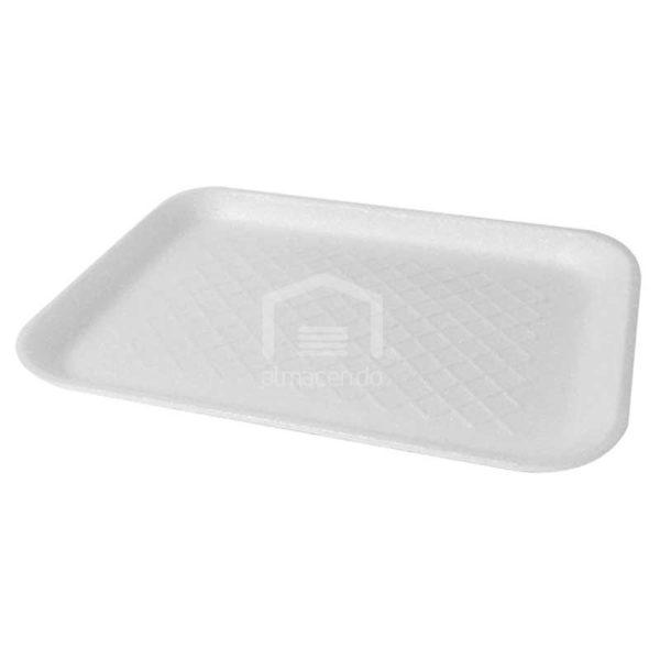 Bandeja Foam 4s Plastifar Blanca, 500 uds