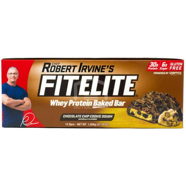 Barras Fitelite Galleta con Chispas de Chocolate, 37.20 oz (12 uds)