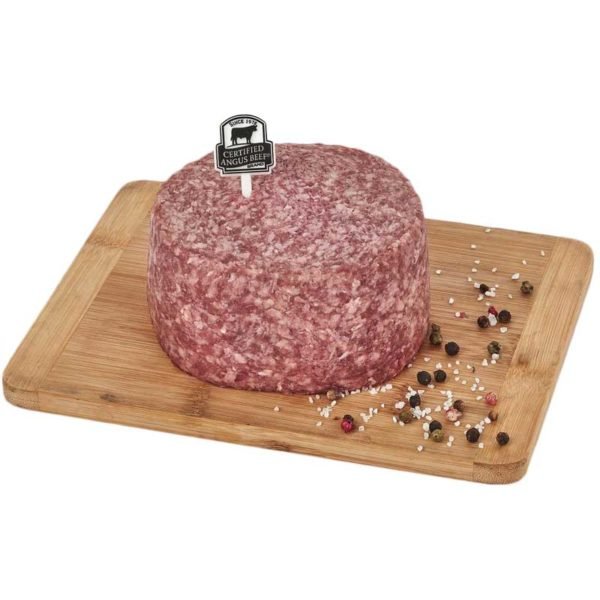 Carne Molida 80/20 de Res Certified Angus Beef, 3 lbs