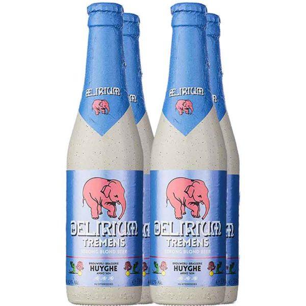 Cerveza Delirium Tremens, 11.2 oz (4 Pack)