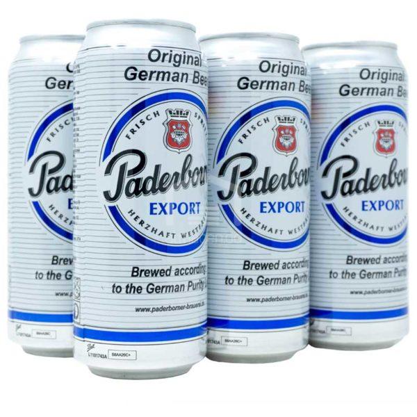 Cerveza Paderborner Brauerei Export, 16.9oz (6 Pack)