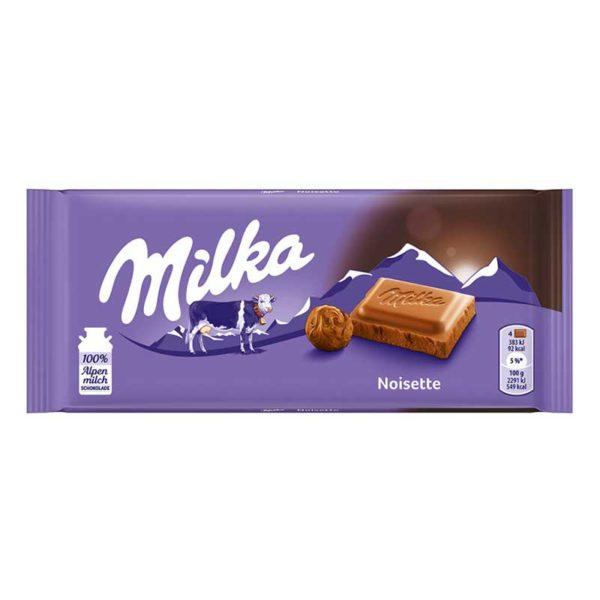 Chocolate Milka Noisette, 100 g