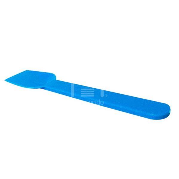 Cucharas para Helado Azul Desechables Plastifar, Caja 500 uds