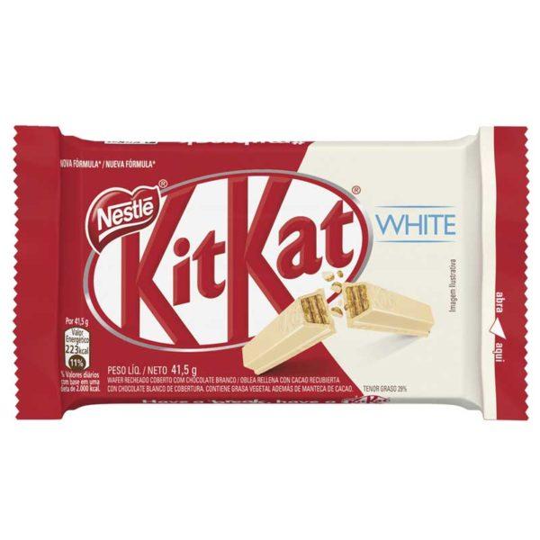 Chocolate Nestlé Kit Kat Blanco, 41.5 g