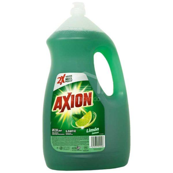 Lavaplatos Axion Limón, 2.8 L